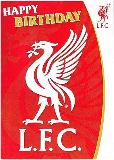 Tarjeta de felicitaci/ón de cumplea/ños con sonido del Liverpool F.C. Liverpool F.C