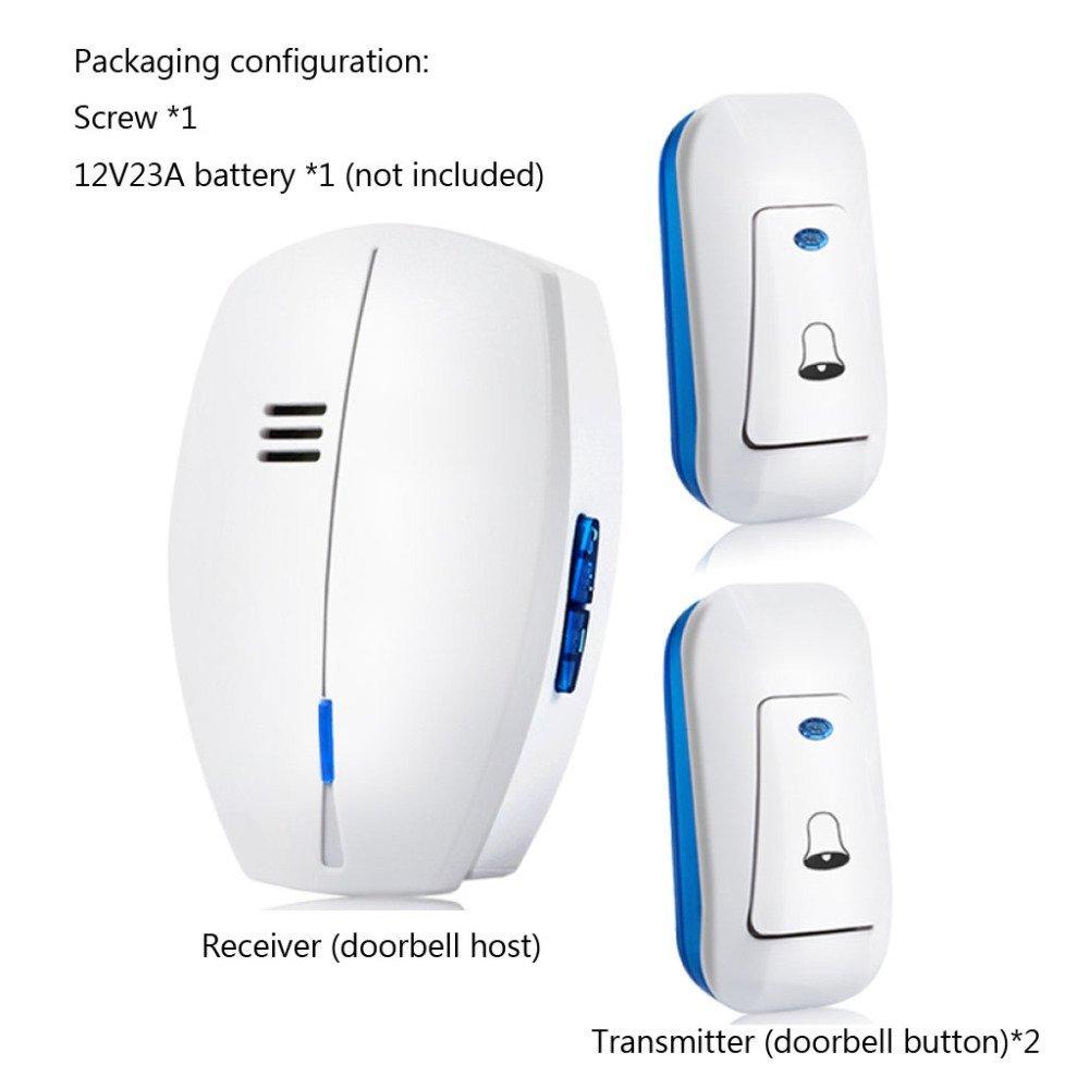 SWJ-doorbells SUNYAN Alarmas De Advertencia Timbre Hogar ...