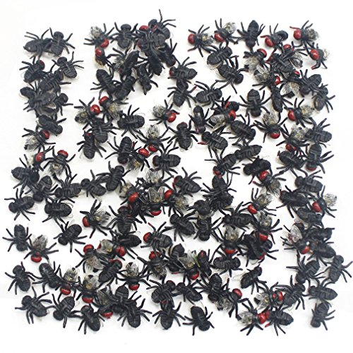 MICHLEY 144pcs Flies for Party Favorite Toys