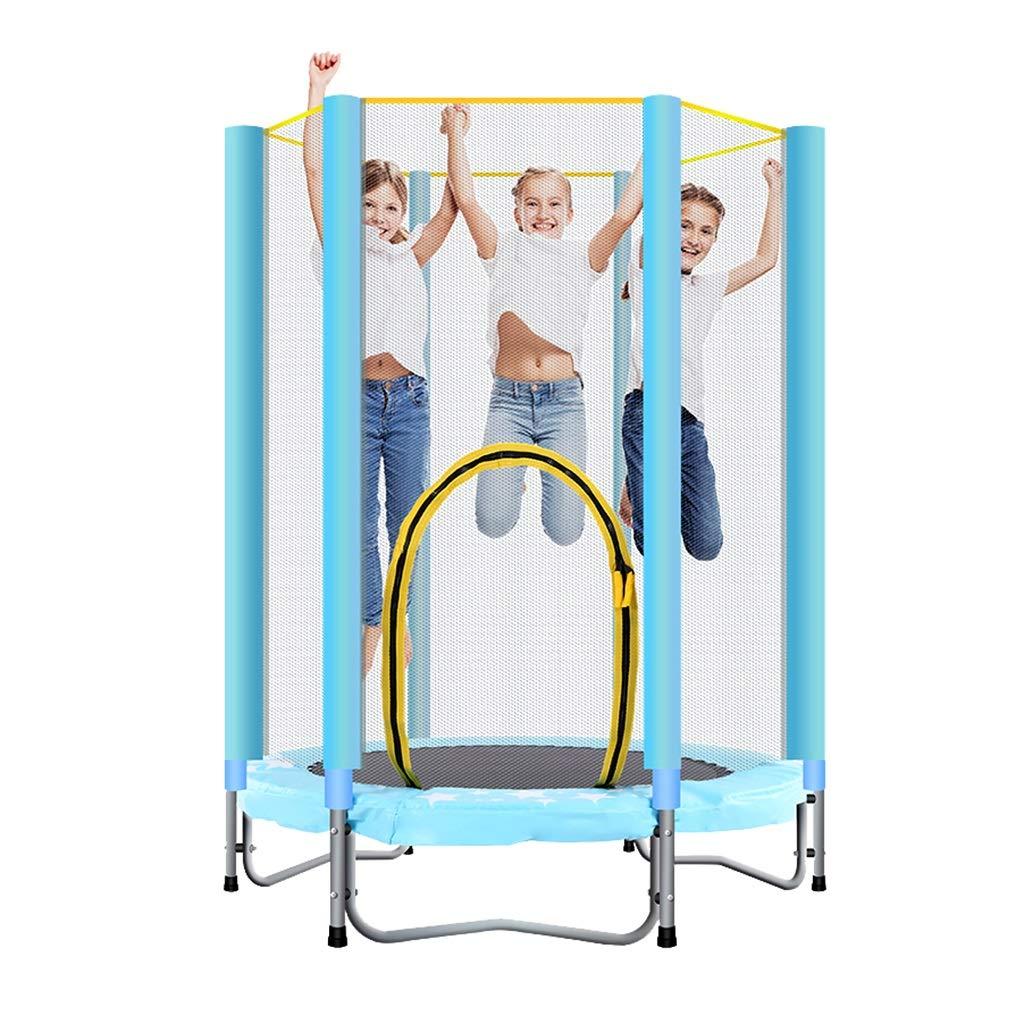 Übungs-Trampolin Gartentrampoline Zusammenklappbares Minitrampolin der Haushaltskinder Innen mit schützendem Netto-Frühlingsschlagbett Erwachsenen Turnhalle Kindschlagbett, tragendes ungefähr 100K