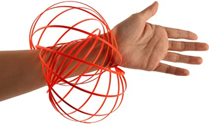 Flow Ring Kinetic Spring Toy 3D Sculpture Ring