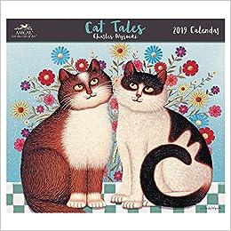 Uh 2019 Calendar Charles Wysocki   Cat Tales Wall Calendar (2019): AMCAL