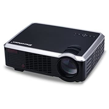 Excelvan - 33 + - LED proyector con 2600 Lúmenes (854 x 540p, FHD ...