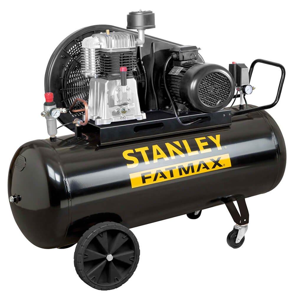 Compresor con aceite Transmisión a correa bistadio 270L 5,5hp Stanley Ba 651/11/270 profesional: Amazon.es: Bricolaje y herramientas