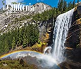 California, Wild & Scenic 2018 14 x 12 Inch Monthly Deluxe Wall Calendar, USA United States of America West Coast State Nature