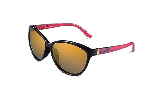 KALLA Casual Cat eye TR90 polarizadas gafas de sol para ...