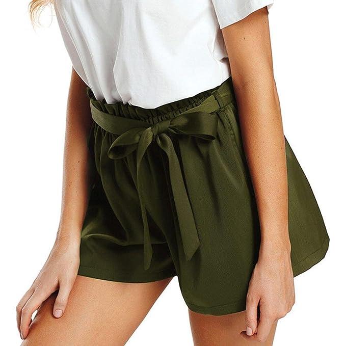 bester Preis am besten authentisch wähle das Neueste Kurze Hosen Damen High Waist Luckycat Damen Shorts Elegant ...