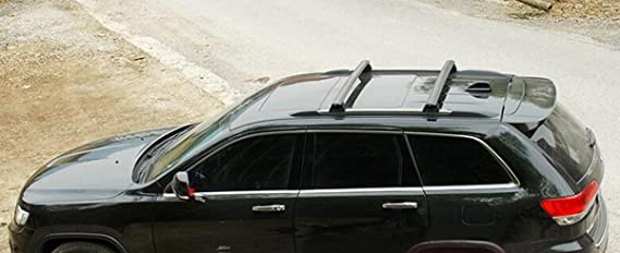 Highitem ONE SET of 2pcs Roof Rails Cross Bar Luggage Rack Crossbar Original accessories FOR JEEP Grand Cherokee 2011-2015