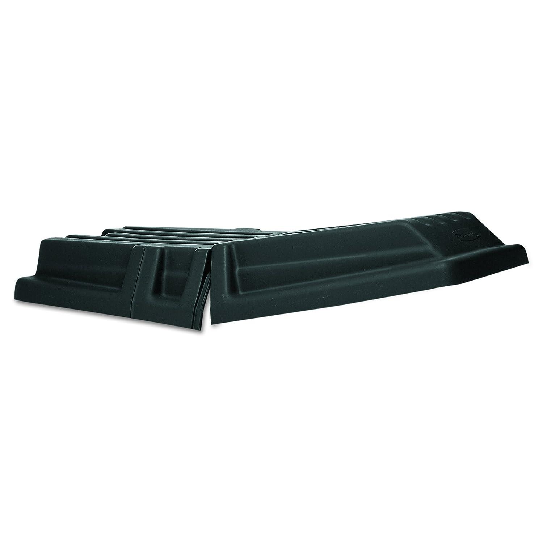 Rubbermaid Commercial Domed Tilt Truck Lid, 13-1/2 Cubic Feet, Black, FG130700BLA