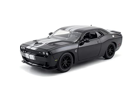 Amazon Com Jada Big Time Muscle 2015 Dodge Challenger Srt Hellcat 1