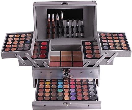 Miss Rose - Kit de contorno de maquillaje multifuncional profesional para sombra de ojos y maquillaje: Amazon.es: Belleza
