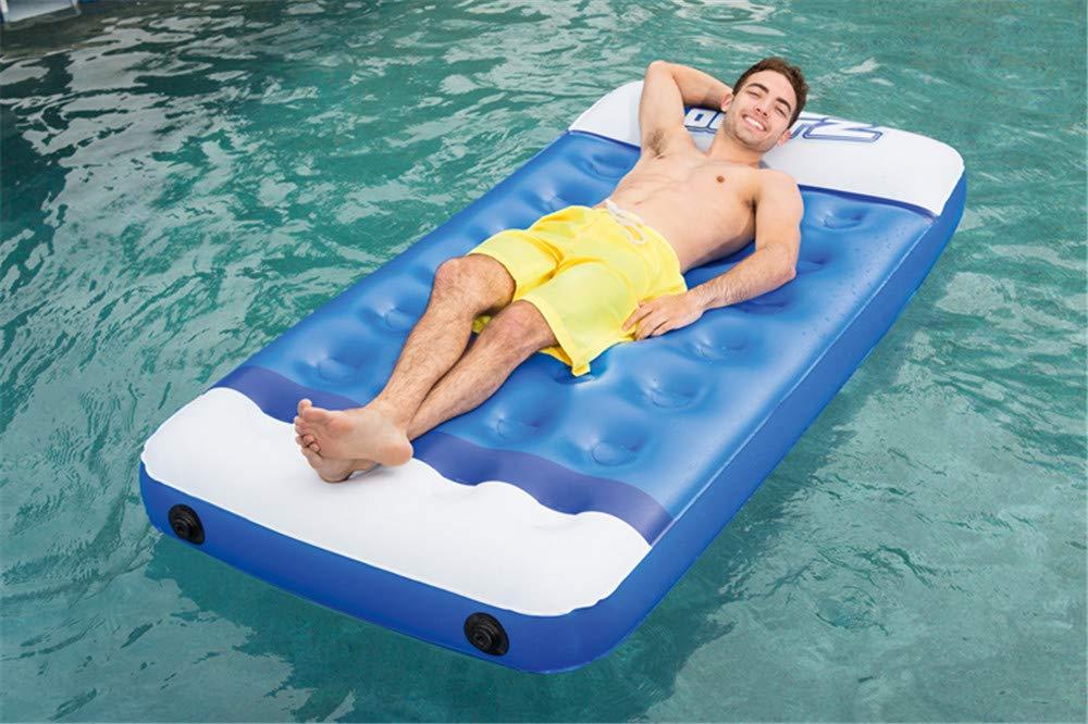 Amazon.com: Flotante Rows, colchón hinchable de agua para ...