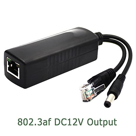 10 pcs PoE Injector for VoIP,IP Camera,5v~48v use