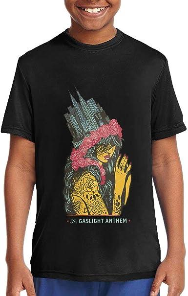 The Gaslight Anthem T Shirt Kids Long Sleeve Tee Stylish Crew Neck Tops