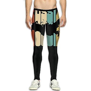 Amazon.com: Mallas de yoga para hombre, estilo retro, estilo ...