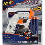 Nerf N-Strike Elite Triad EX-3 Blaster (Colors may vary)