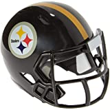 Riddell Mini-American-Football-Helm, NFL-Team: Pittsburg Steelers, im Taschenformat, Speed Pocket