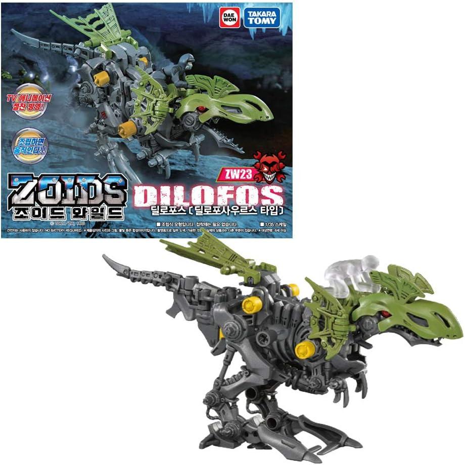 Takara Tomy Zoids Wild ZW23 Dilophos Größe S Actionfigur für Kinder