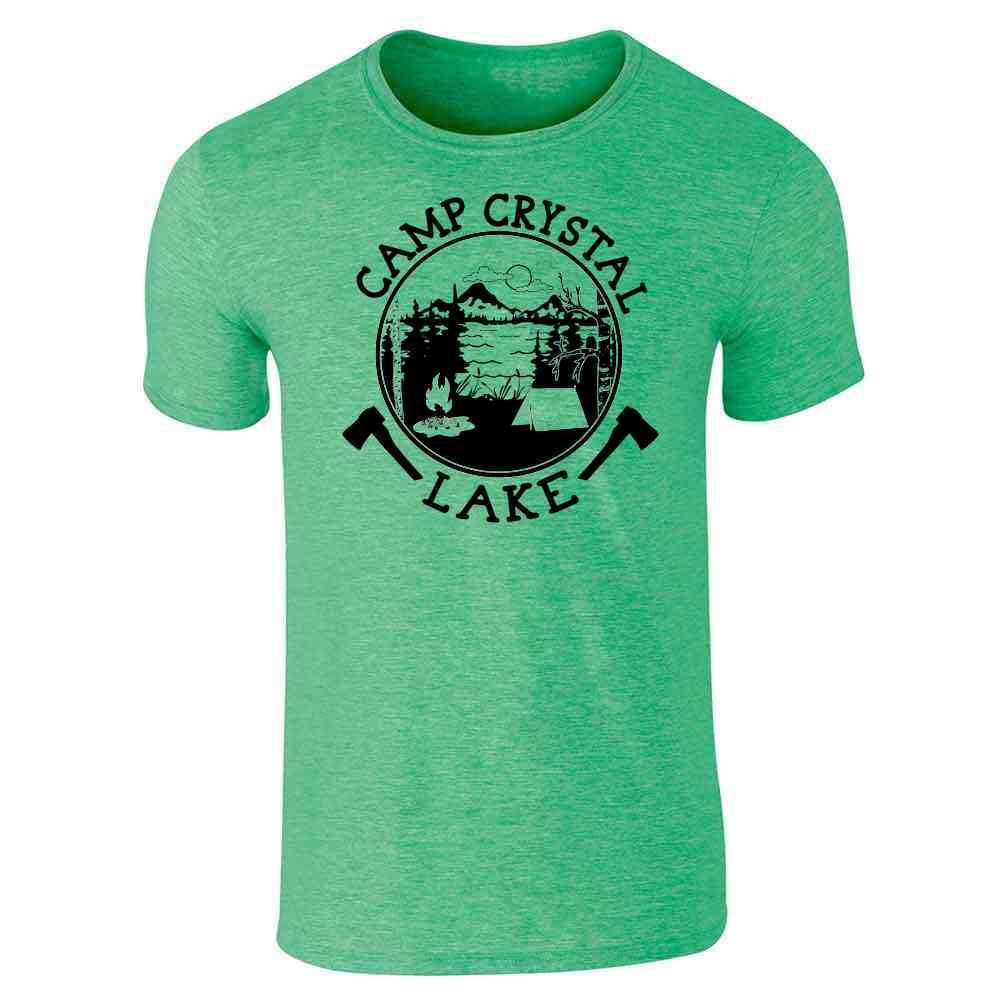 eb3e3abaff51 Amazon.com  Camp Crystal Lake Counselor Shirt Costume Staff Short Sleeve T- Shirt  Clothing