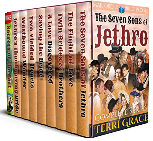 The Seven Sons of Jethro: Mail Order Bride Romance cover