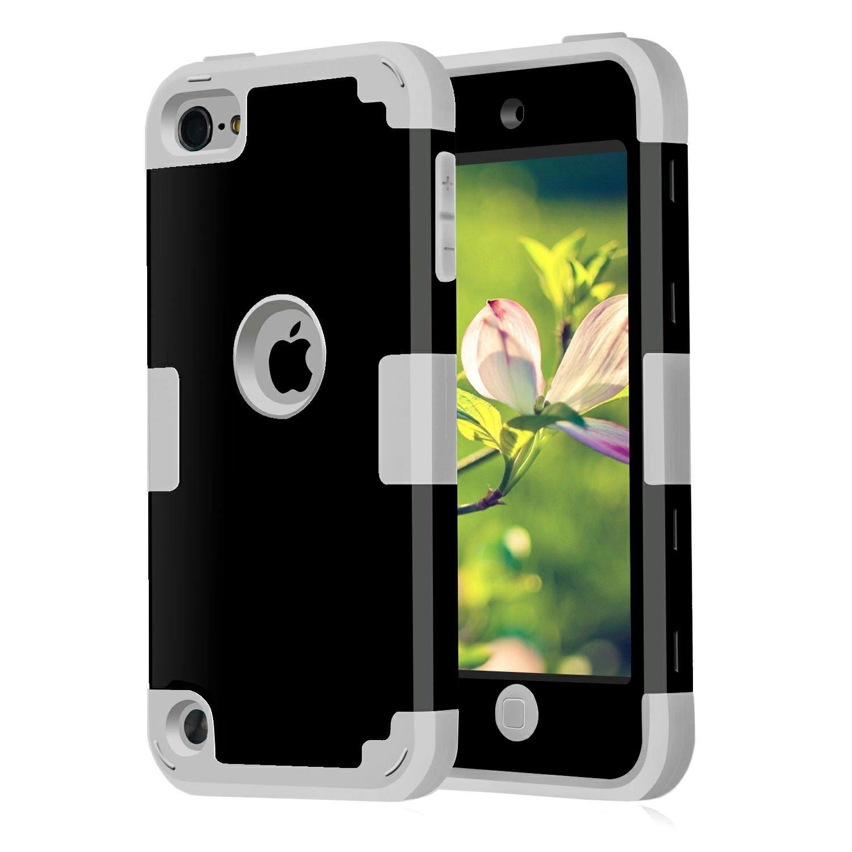 Funda Para iPod Touch 2019 Y 2020, Gen 5, 6 Y 7 negra/gris