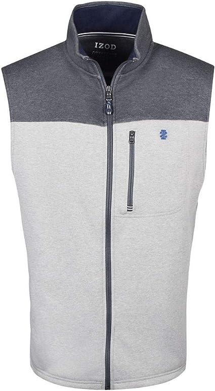 IZOD Mens Advantage Performance Spectator Fleece Vest