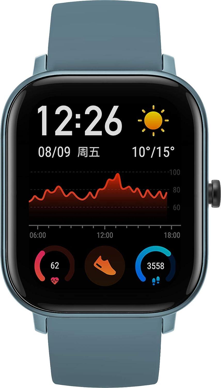 Amazfit GTS Reloj Inteligente Azul AMOLED 4,19 cm (1.65
