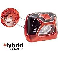 Petzl Zipka Headband Flashlight LED Rojo - Linterna (Linterna con Cinta para Cabeza, Rojo, 2 lámpara(s), LED, 2 LM, 200 LM)