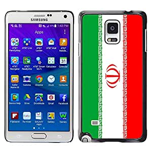 - Flag - - Hard Plastic Protective Aluminum Back Case Skin Cover FOR Samsung Galaxy Note 4 SM-N910 N910 Queen Pattern