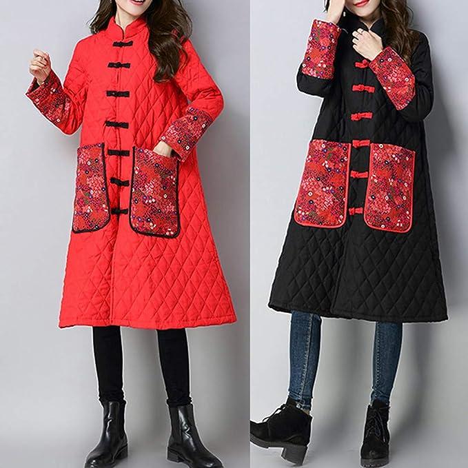 ee039d12dfa1 Morwind Piumino Donna Inverno Cappotto Donna Cerniera Ragazze Cappotto  Giacche Classico Casual Donna Ragazze Colletto Più