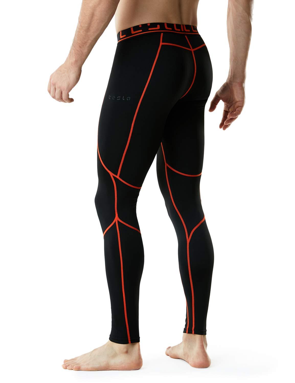 TM-YUP43-KOG_2X-Large Tesla Men's Thermal Wintergear Compression Baselayer Pants Leggings Tights YUP43 by TSLA (Image #6)