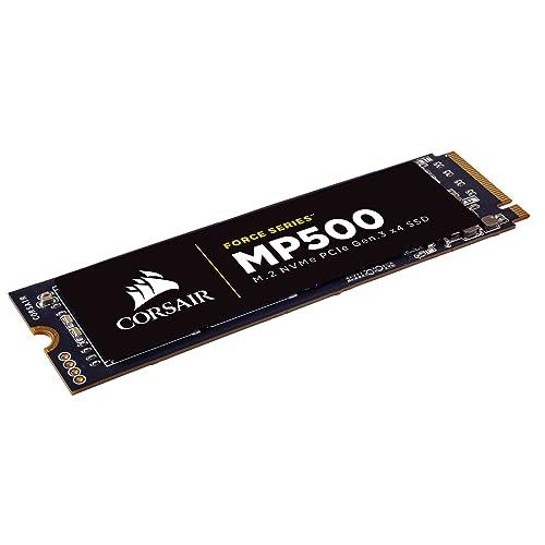 Corsair Force MP500 Unidad de Estado sólido SSD de 480 GB M 2 PCIe Gen 3 x4 NVMe SSD hasta 2 800 MB s