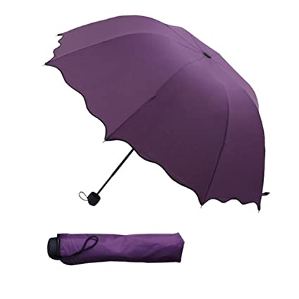 Paraguas para todo clima, Paraguas de protección UV, Paraguas con forma de domo para