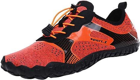 Calzado minimalista para hombre de la marca MäNner, zapatos descalzos, zapatillas de trail rápido para deportes acuáticos, zapatos de neopreno, piscina, playa, surf ...