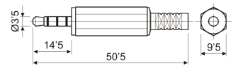ElectroDH 15109 DH JACK MACHO 35MM 4 POLOS