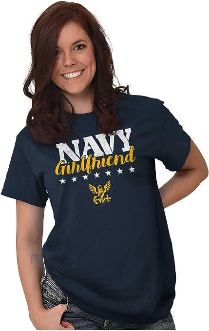 CafePress US Navy Girlfriend Women/'s Dark T Shirt Womens T-Shirt 1816681801