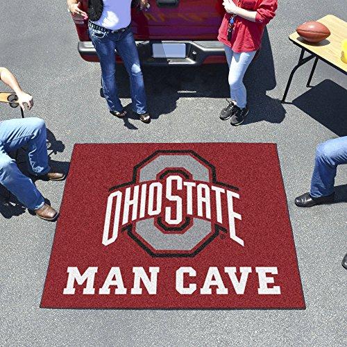 - Ohio State University Man Cave Tailgater Rug 60