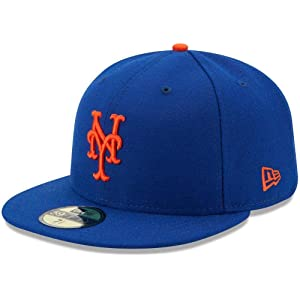 the best attitude 35b3d c98e7 New Era 59FIFTY New York Mets MLB 2017 Authentic Collection On-Field Game  Fitted Hat