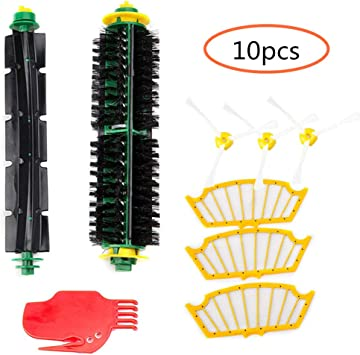532 520 530 Set Filter und Bürsten Für iRobot Roomba Serie 500 534 510 531