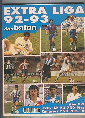 Don Balon extra numero 23: liga 92/93: Amazon.es: Varios: Libros