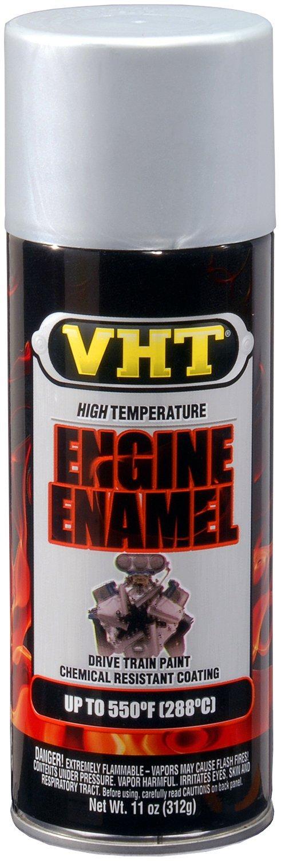 VHT SP995-6 PK (ESP995007-6 PK) Nu-Cast Aluminum High Temperature Engine Enamel - 11 oz. Aerosol, (Case of 6) by VHT