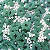 Natural Green & White Gluten GMO Nuts Dairy Soy Free Confetti Christmas Trees Bulk Pack.