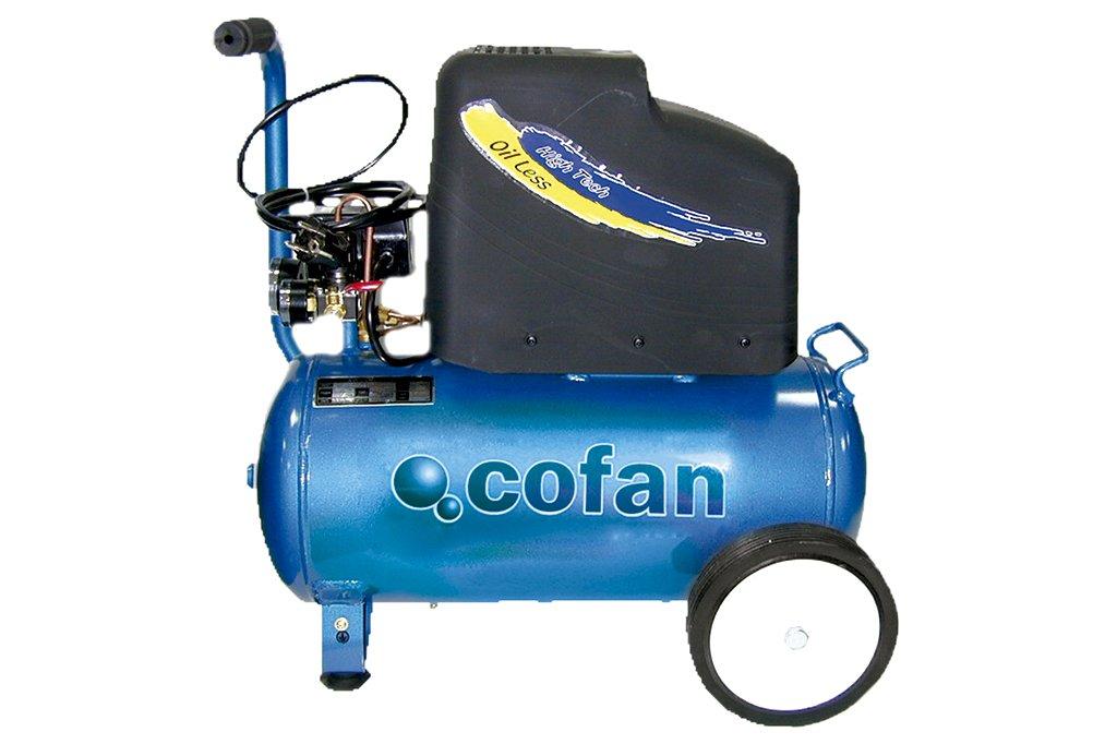 Cofan 09001003 Compresor eléctrico 0.011 V, 25 l: Amazon.es: Bricolaje y herramientas