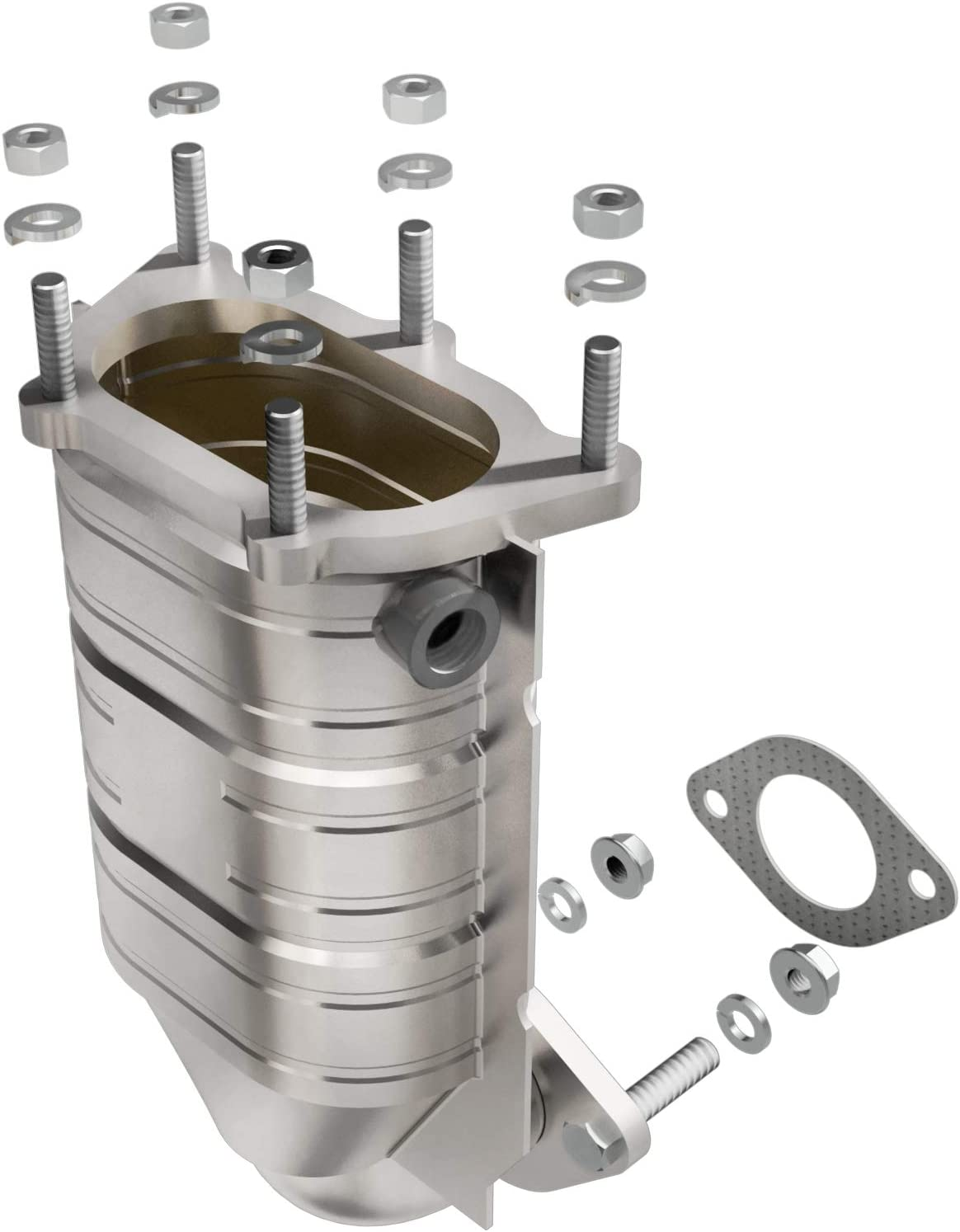 Non CARB compliant MagnaFlow 49297 Direct Fit Catalytic Converter