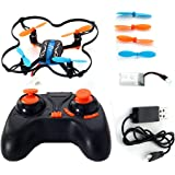 AICase® Mini Drone 2.4Ghz 4CH 6-Axis Mini Nano RC Quadcopter with LED UFO Airplanes Helicopter
