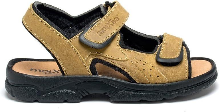Esscelent Fashion 7010 Chanclas de Piel Bios Caballero Verano Sandalia Tallas Grandes Hecho en España: Amazon.es: Zapatos y complementos
