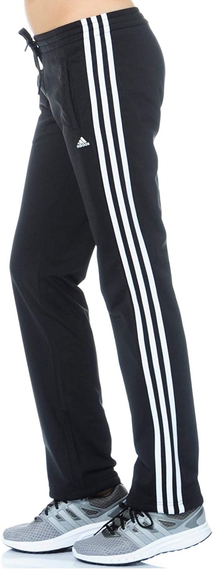 SP PES Adidas 3S-Pantalón de chándal para mujer negro XXS: Amazon ...