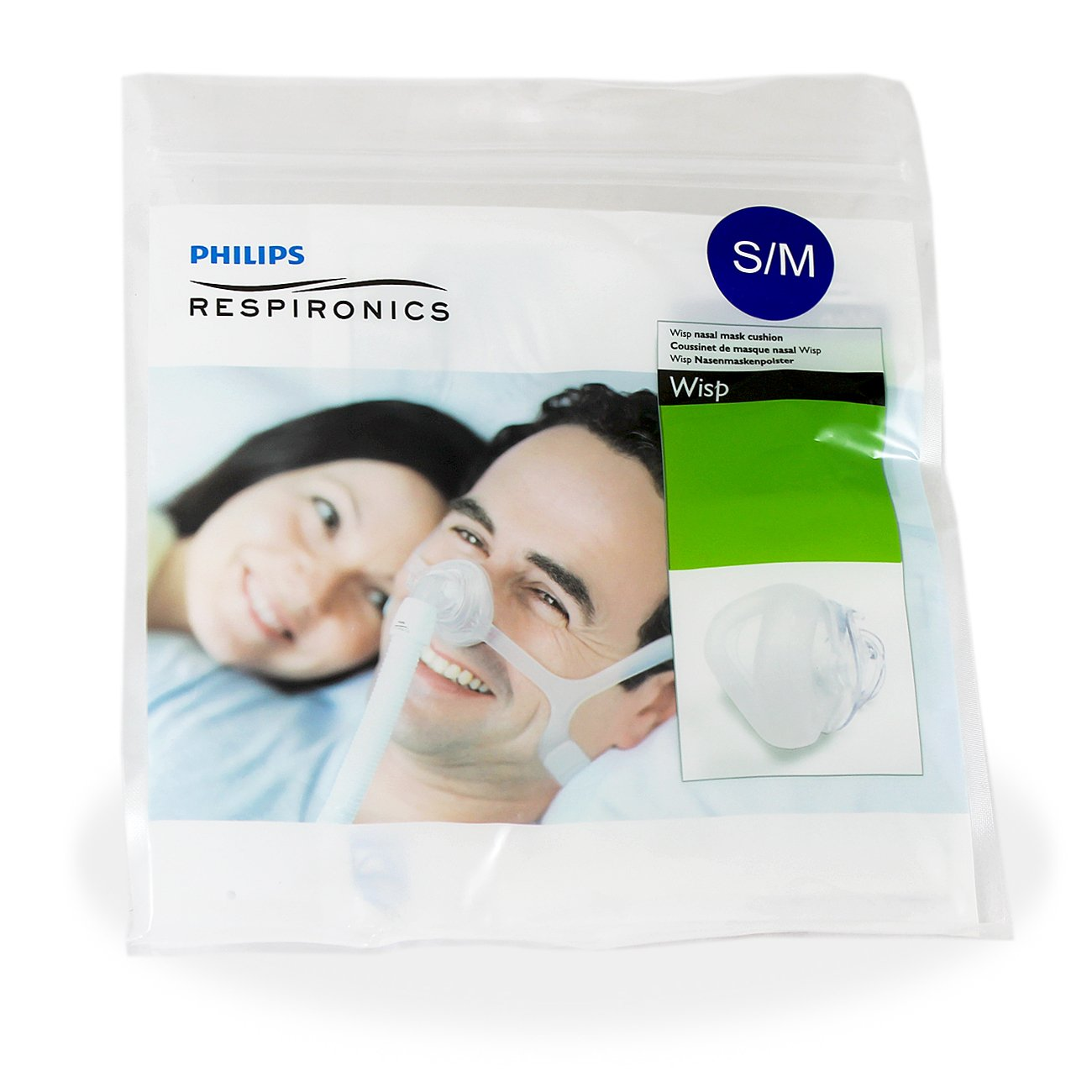 Respironics Wisp Nasal CPAP Mask Replacement Cushion Sm/Med
