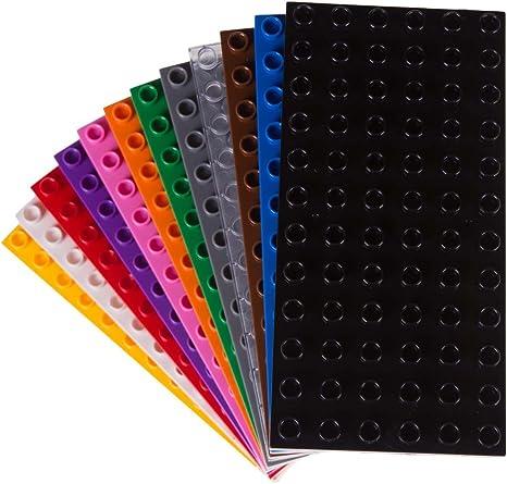 2x Lego Kegel Rakete 4x4x2 verschiedene Farben guter Zustand