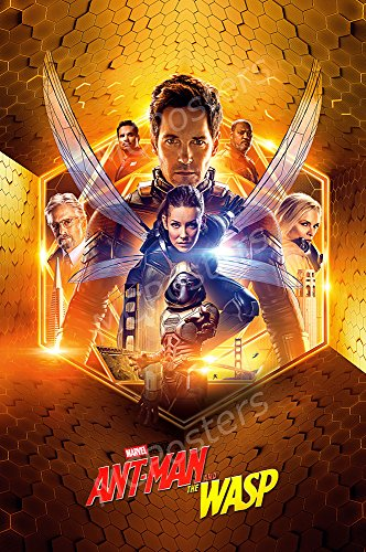 MCPosters Marvel Ant-Man and the Wasp GLOSSY FINISH Movie Po